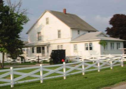 Amish farm, Arthur Illinois